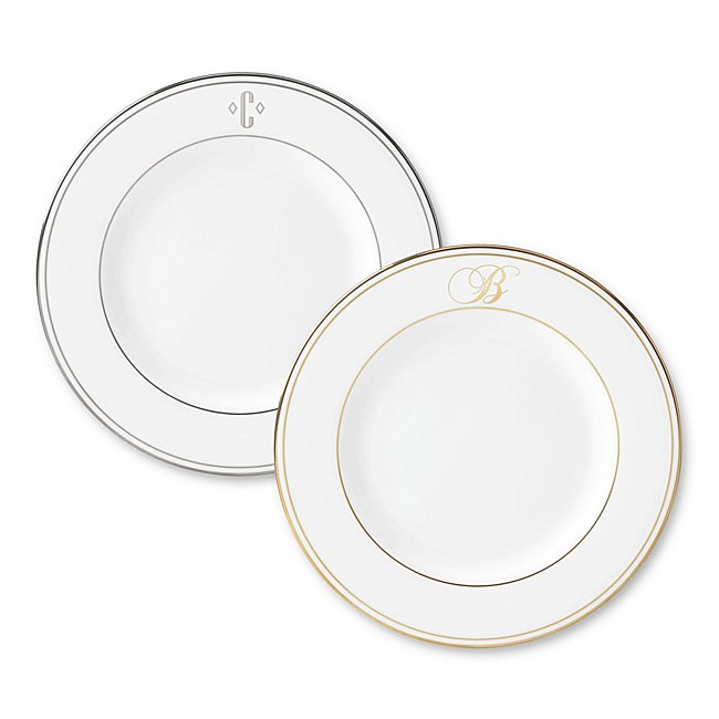 Lenox Monogram Salad Plate photo