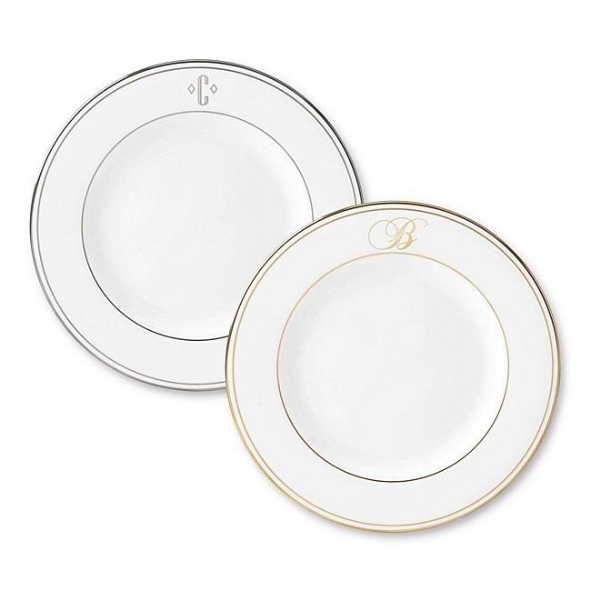 Lenox Monogram Accent Plate photo