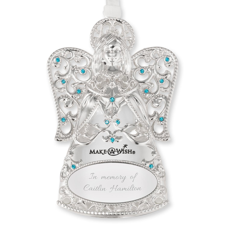 make a wish angel ornament