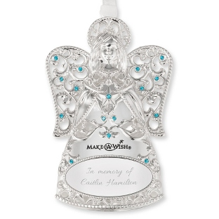 Make-A-Wish 2017 Angel Ornament