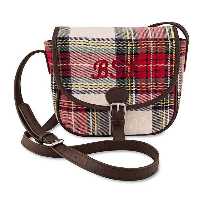 Tartan Plaid Crossbody...