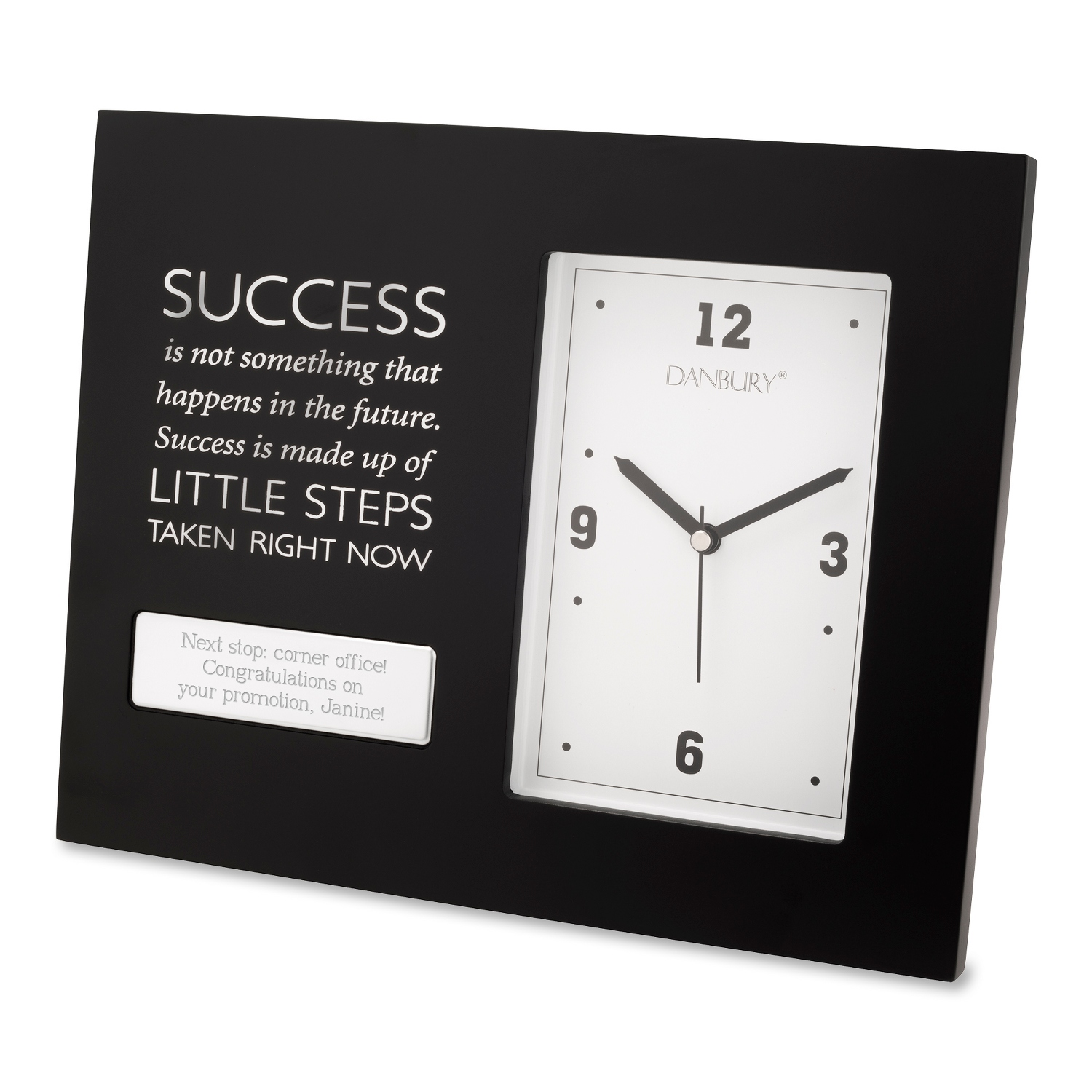 personalized business clocks at things remembered