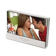 love glass block frame - Engraved Photo Frames