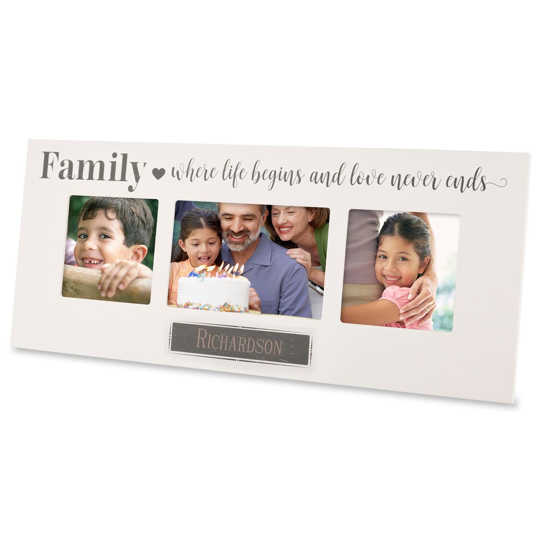 Family Triple-Opening Frame