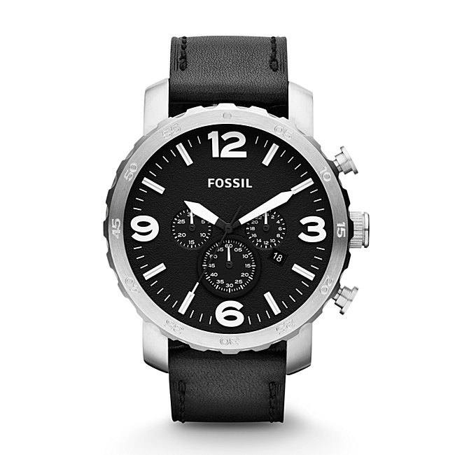 Fossil Mens Nate Chronograph...