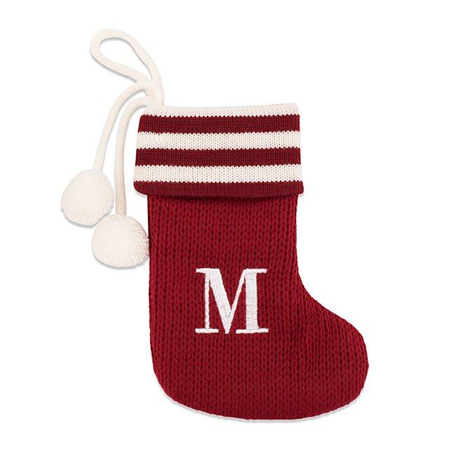 Mini Initial M Stocking...