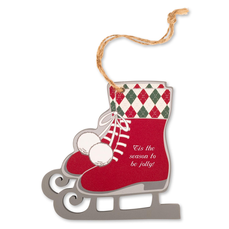 Red Ice Skates Ornament