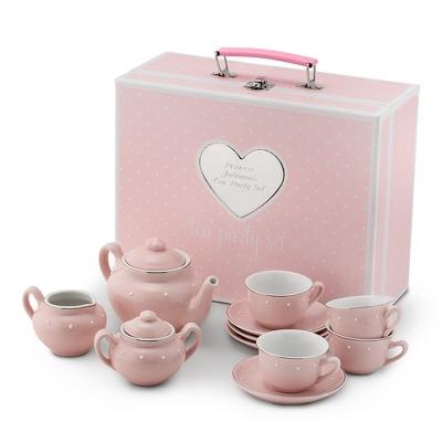 Kids Porcelain Tea Set with Carry Case