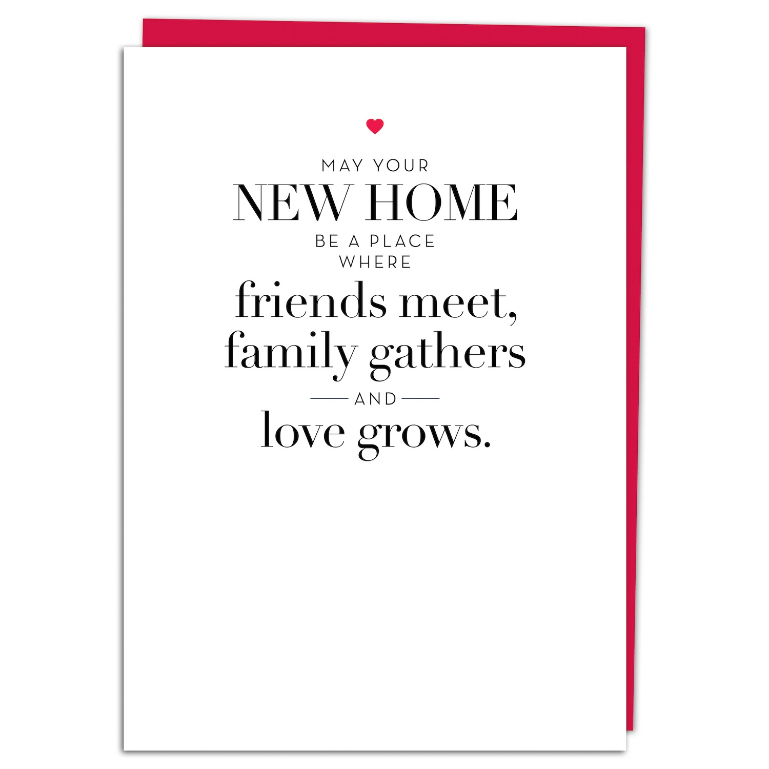 New home greeting card m4hsunfo