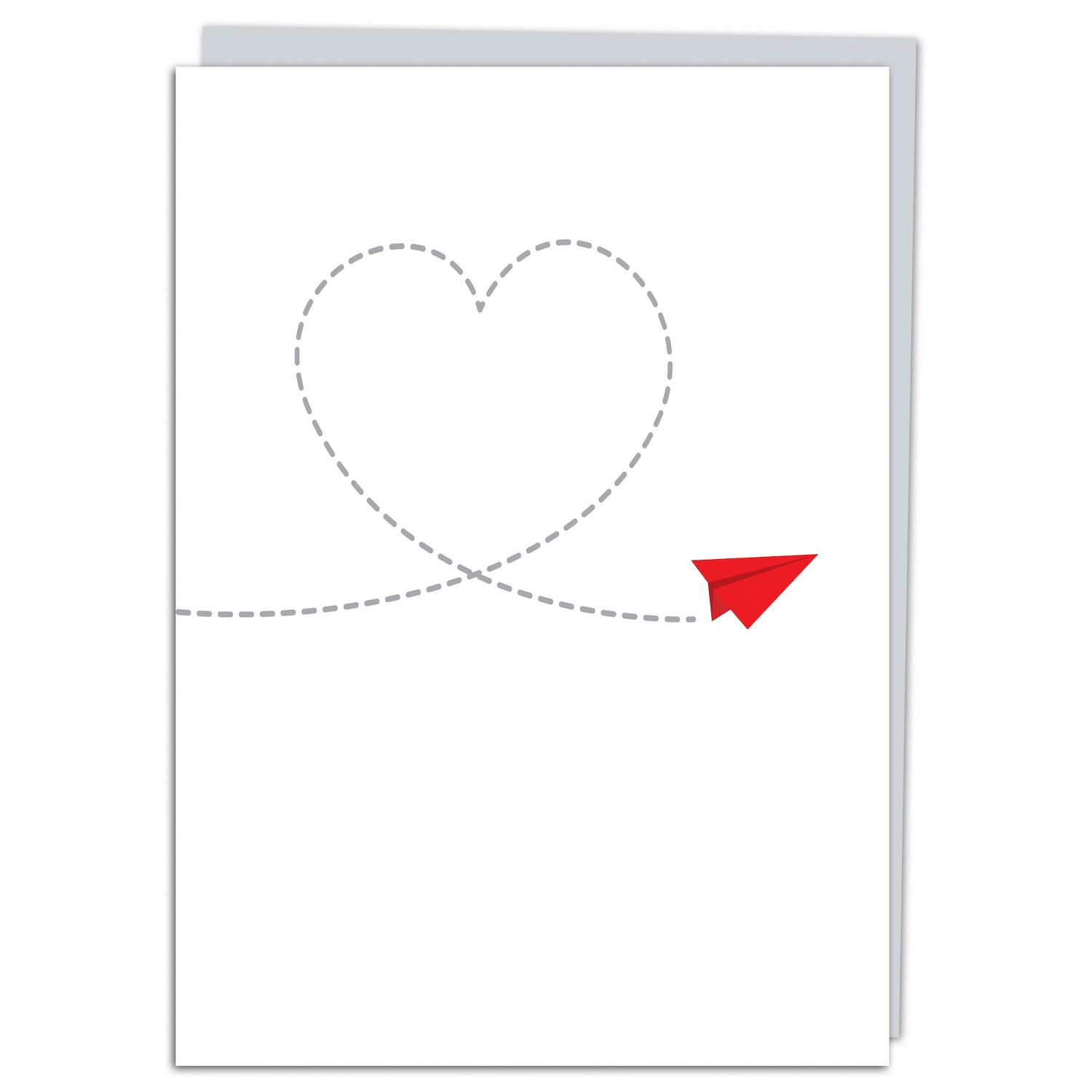 Greeting cards for any occasion at things remembered paper plane heart greeting card kristyandbryce Gallery