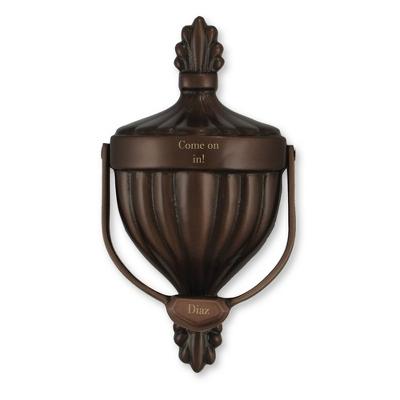 Oil Rubbed Bronze Premium Victorian Door Knocker