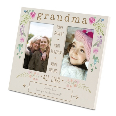 Grandma Floral Double Opening Frame