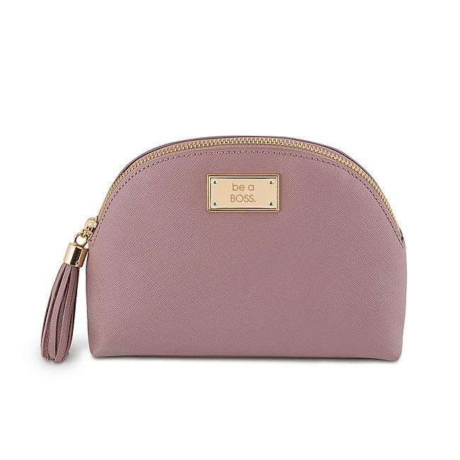 Lilac Leather Rounded...