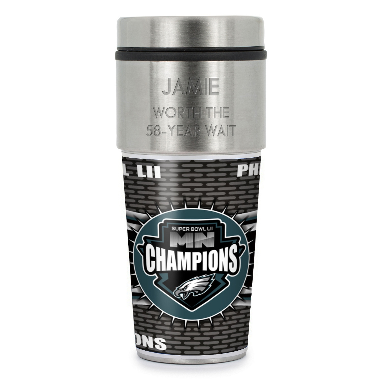 huge selection of cbea0 cec22 Eagles 2018 Super Bowl LII Champions Tumbler