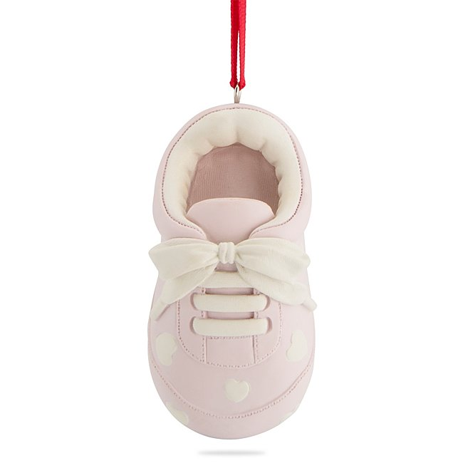 Pink Baby Bootie Ornament...