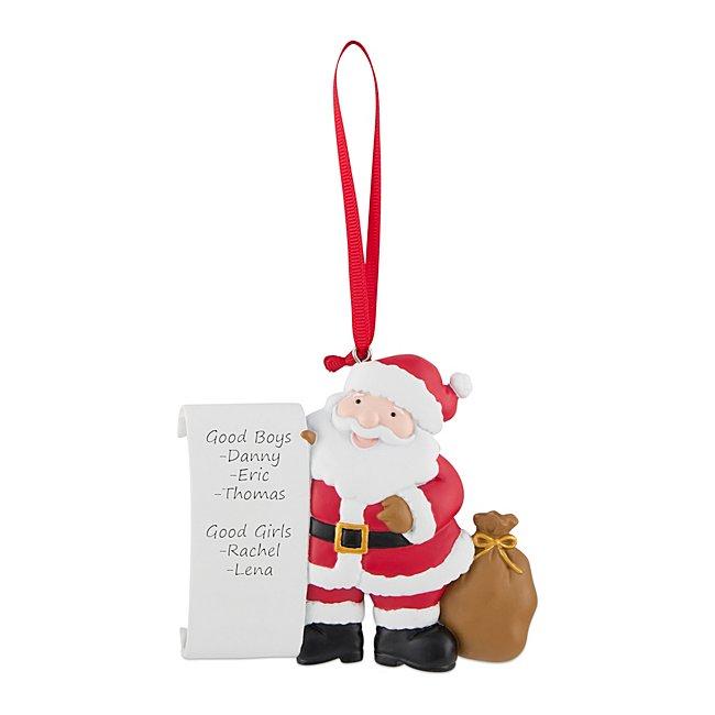 Santa's List Ornament...