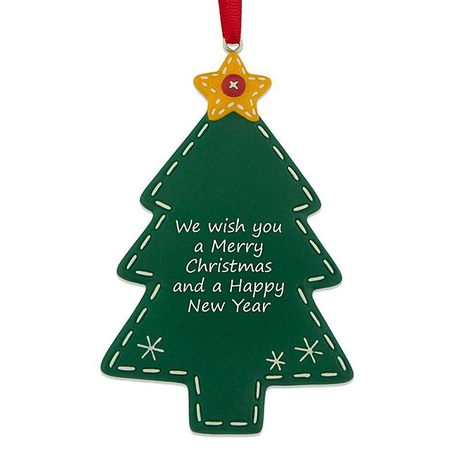 Stitched Tree Ornament...