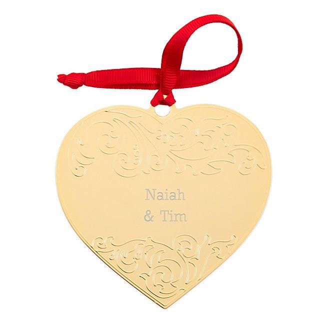 Gold Embellished Heart...