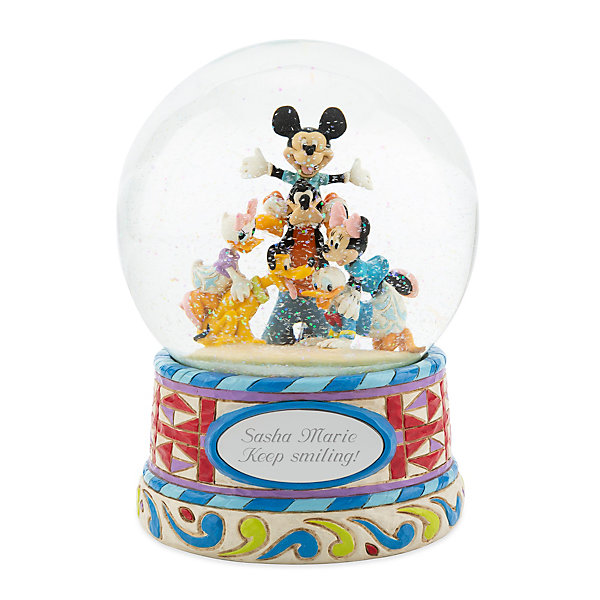 Make-A-Wish Disney Traditions Mickey and Friends Snow Globe