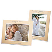 engagement picture frames imikimi flat iron gold frame personalized picture frames at things remembered