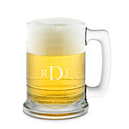 personalized beer glasses mugs at things remembered