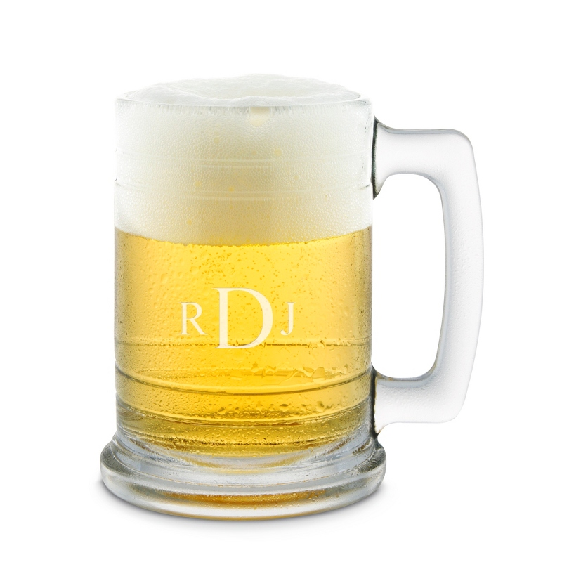 15 OZ Glass Beer Mug