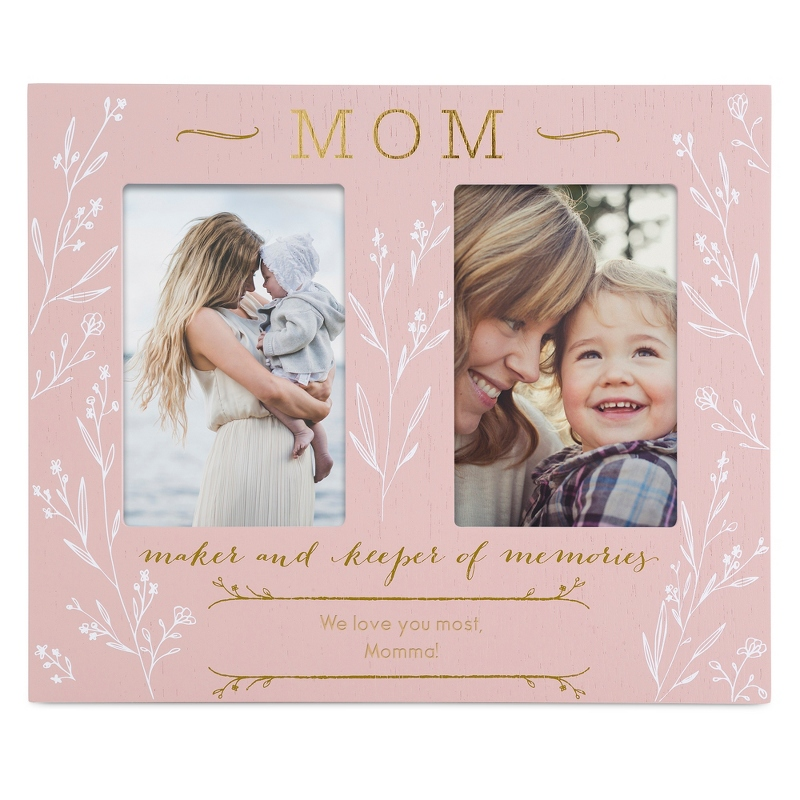 Light Pink Mom Double Opening Frame