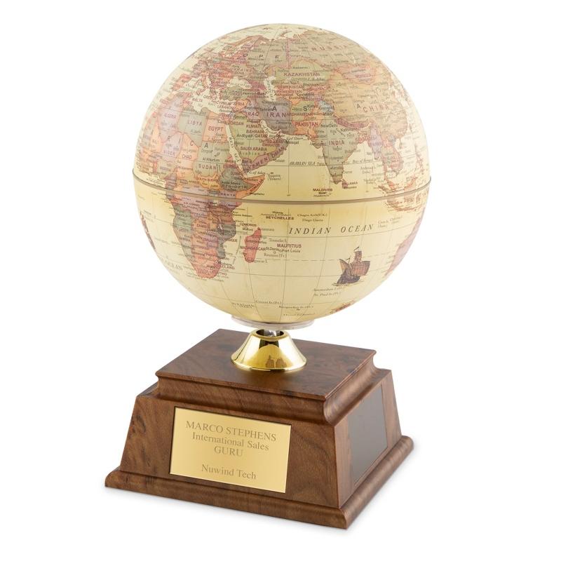 17 Inch Old World Solar Globe
