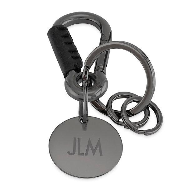 Lanyard keychain \u2013 Designer keychains with a bronze bead-clip.