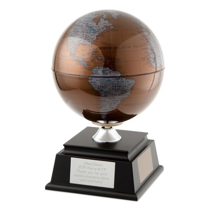 17 Inch Copper Solar Globe