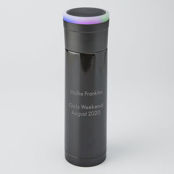 Blue Tooth Speaker 16 Oz Stainless Steel Water Bottle