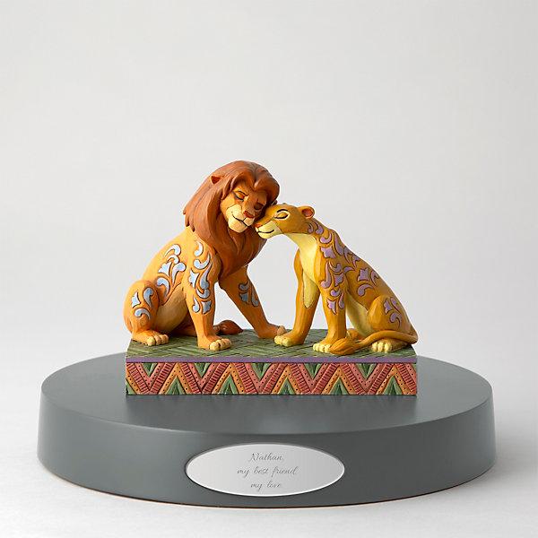 Jim Shore Disney Traditions Simba And Nala Figurine