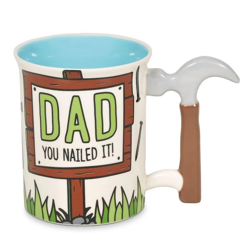 16 OZ Dad Hammer Mug