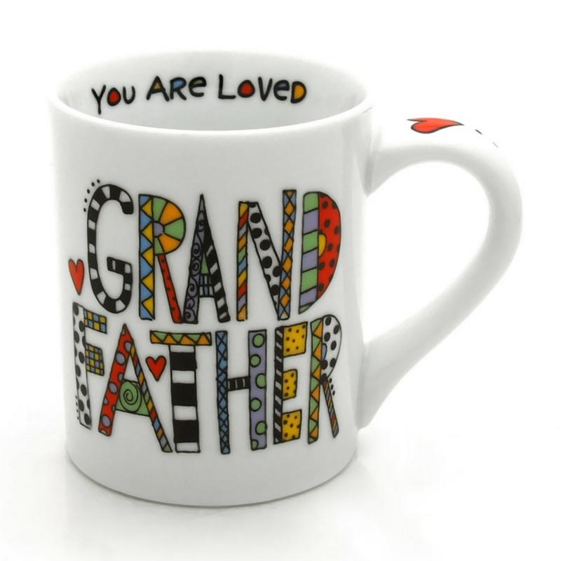 16 OZ Cuppa Doodle Grandfather Mug
