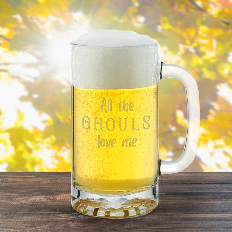 All the Ghouls Love Me Halloween Beer Mug