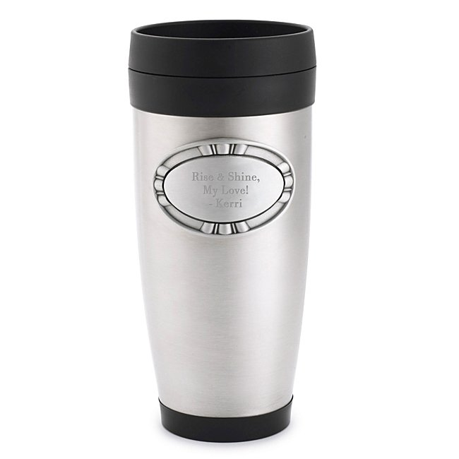 Stainless Steel Travel Mug - Travel Mugs & Thermoses - Drinkware - Coffee & Tea Mugs - Her Gifts - Personalized At Things Remembered