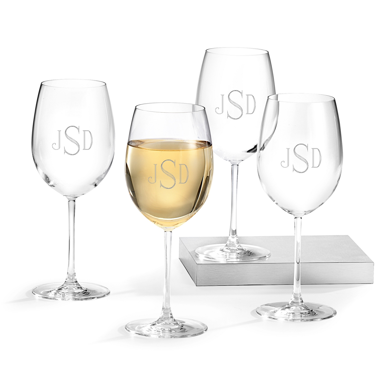 mothers day personalized wine glasses