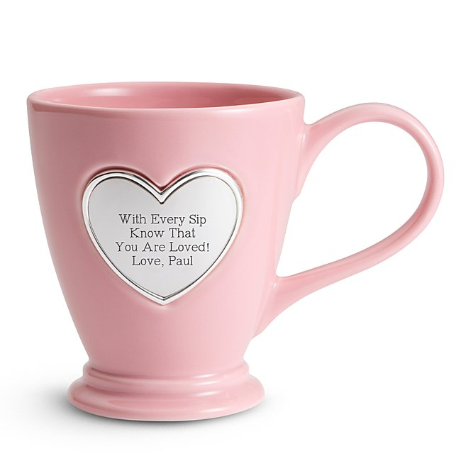 Heart Coffee Mug - Coffee & Tea Mugs - Drinkware - Her Gifts - Personalized At Things Remembered