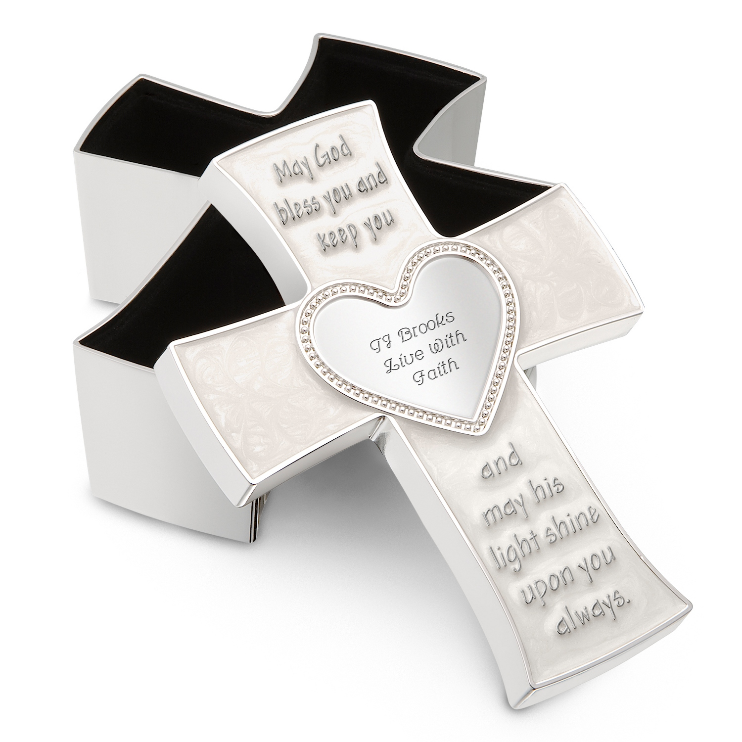 Children's Cross Keepsake Box