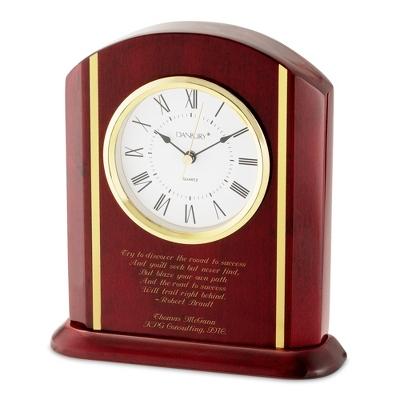 High Gloss Mahogany Clock ...