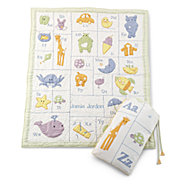 personalized baby blankets quilts at things remembered