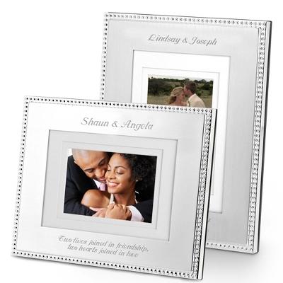 Silver Beaded Frames