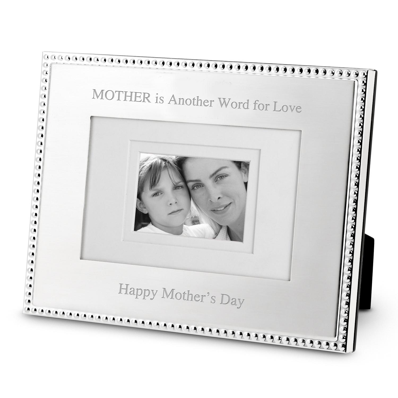 Landscape Silver Beaded 4 x 6 Frame