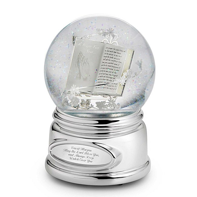 Personalized Praying Hands Water Globe by Things Remembered