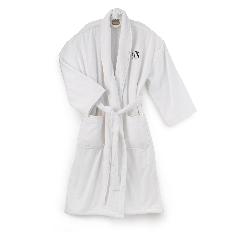 terry cloth bathrobe. Terry Cloth Bathrobe E