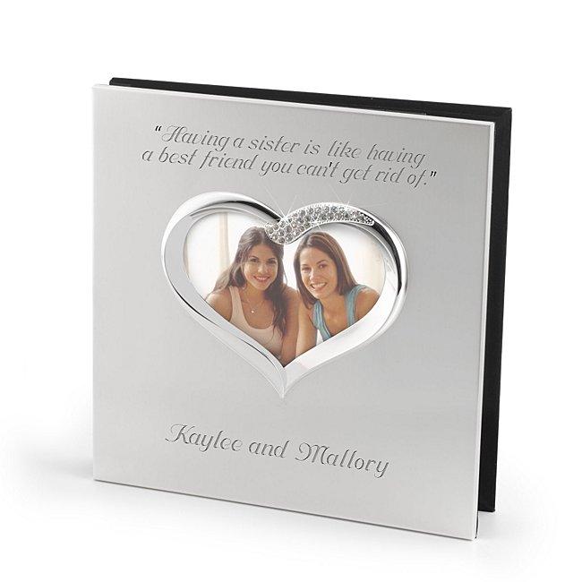 Personalized Figural Heart Album