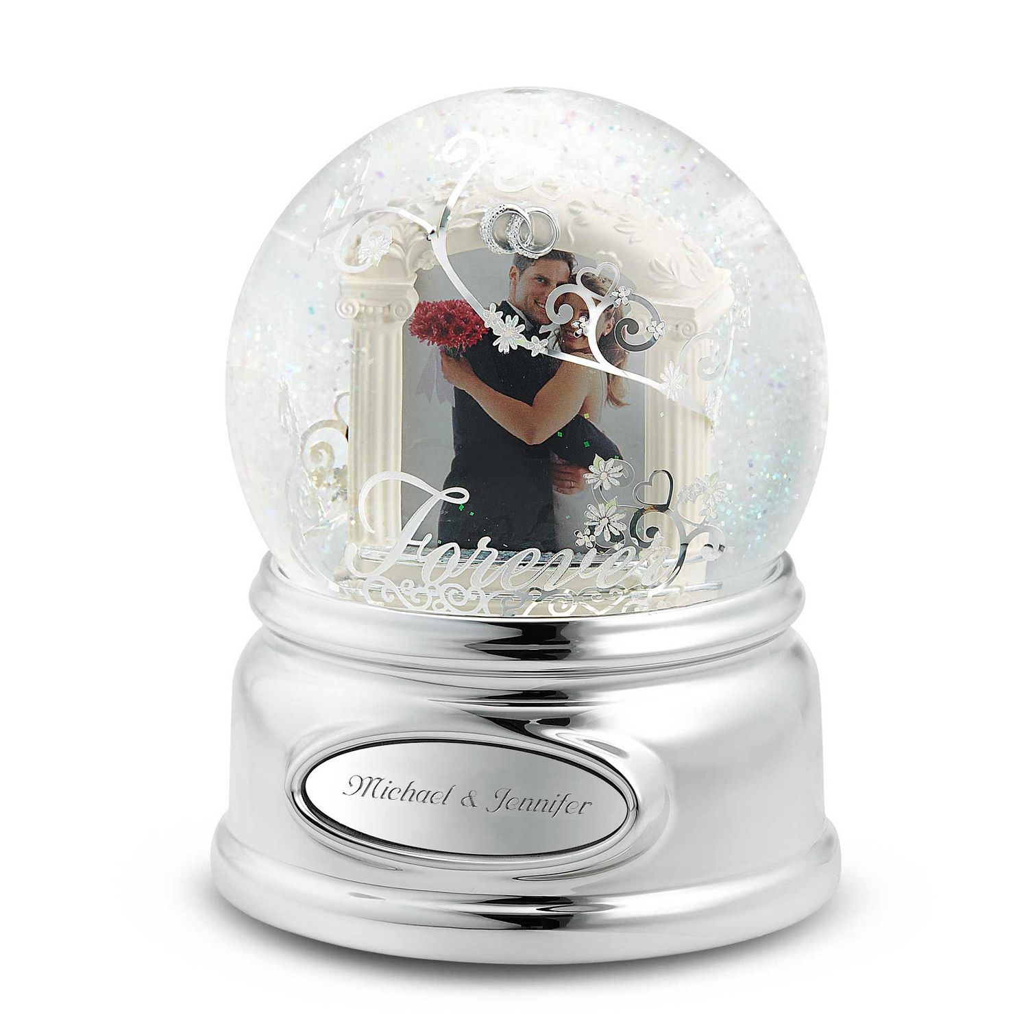 Wedding & Anniversary Snow Globes at Things Remembered