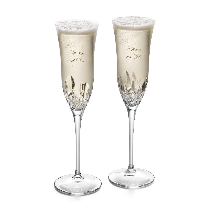waterford lismore essence champagne flutes. Black Bedroom Furniture Sets. Home Design Ideas