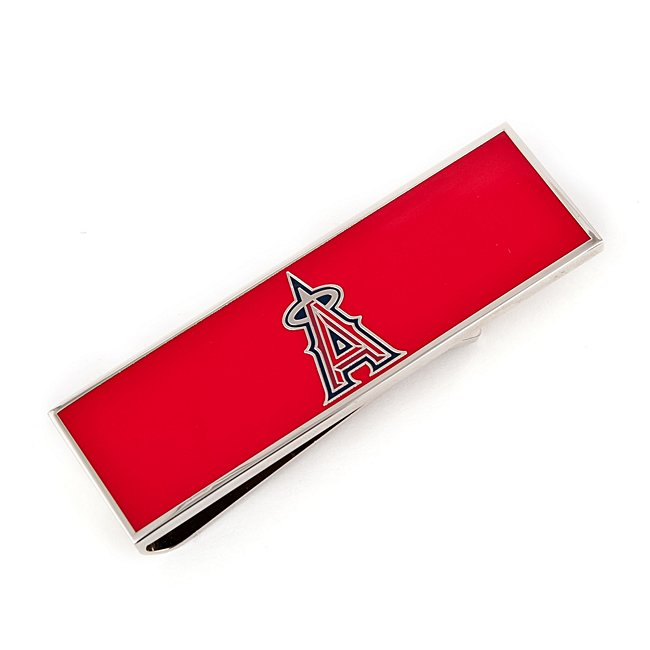 Los Angeles Angels Money Clip With Complimentary Tritone Valet Box - Men's Accessories - Wedding Gifts - Personalized At Things Remembered