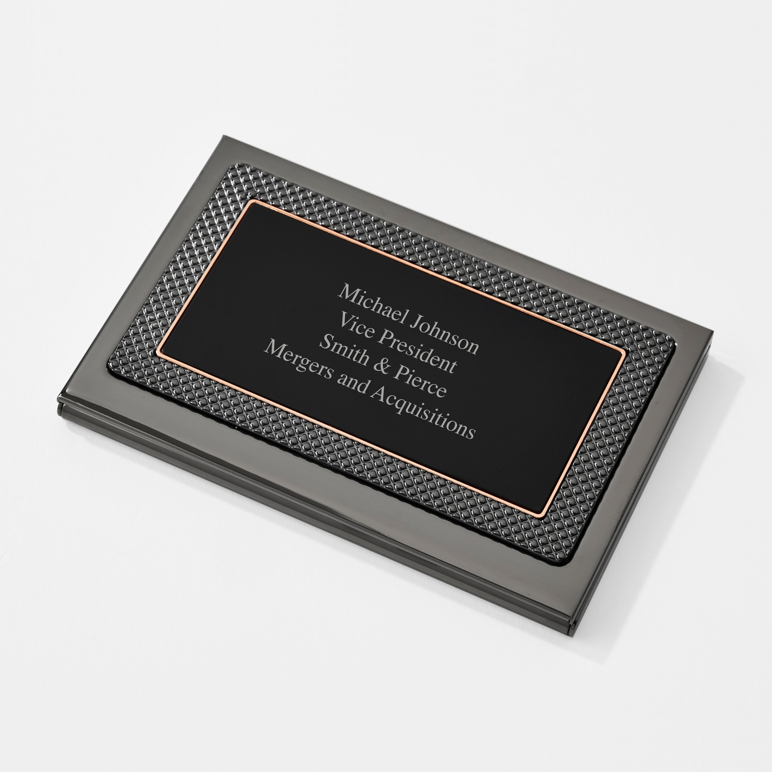 Personalized business card holders cases at things remembered dakota card case colourmoves